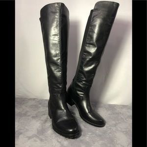 Mossimo Knee Boots bonded leather  8 1/2